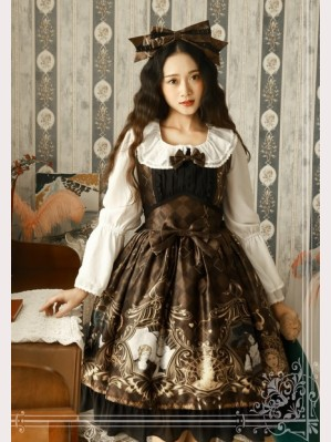 Magic tea party Laurel goddess lolita dress jsk