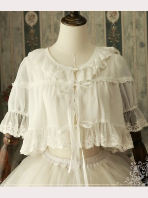 Magic tea party Lolita Chiffon Bolero