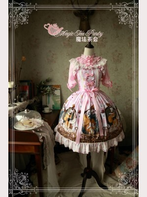 Magic tea party Squirrel couple lolita dress JSK