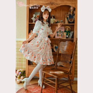 Magic Tea Party Cats & Orange Sauce Lolita Dress JSK 2