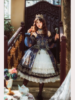 Nineodes Crown Of The Sea Classic Lolita Set (NG2)