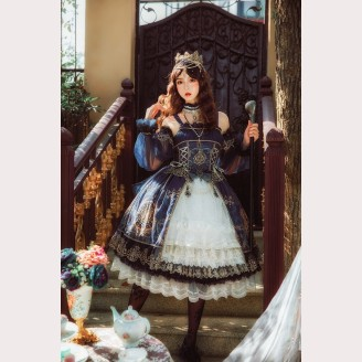 Nineodes Crown Of The Sea Classic Lolita Set