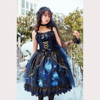 Nineodes The stars & the moon lolita dress JSK