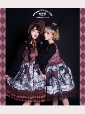 Diamond Honey Freak Show Gothic Lolita Dress OP (DH122)