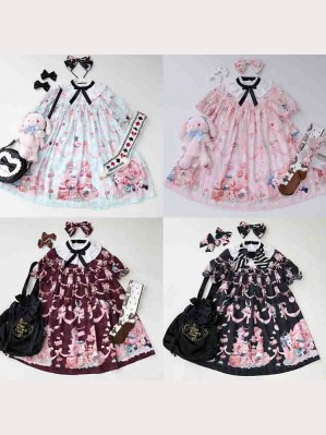 Diamond Honey Dream Alice Twins Lolita Dress OP