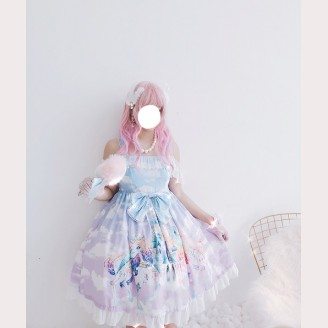 Diamond Honey Dream Unicorn Lolita Dress JSK