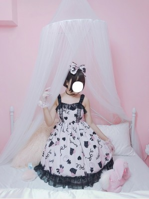 Diamond Honey black chocolate gift box lolita dress JSK