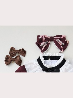 Diamond Honey Dream Alice Twins Matching Headbow/ Hairclips/ Wristbands