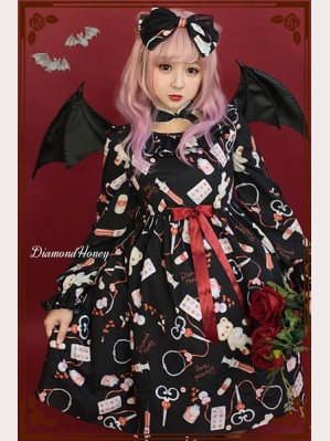 Diamond Honey Animal Hospital Lolita Dress