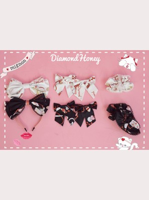 Diamond Honey Animal Hospital Matching Headbow/ Hairclips/ Wristbands