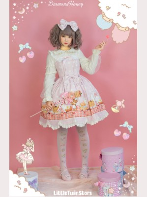Diamond Honey Breakfast muffins Lolita Dress JSK