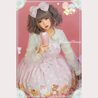 Diamond Honey Breakfast muffins matching lolita headbow KC