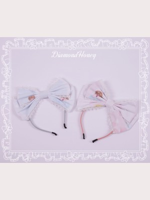 Diamond Honey Thumbelina & Animals Lolita matching headbow KC