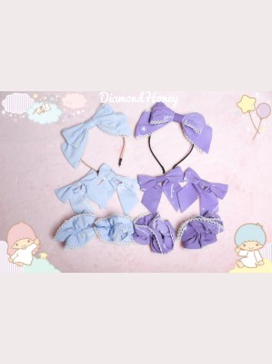 Diamond Honey Fantasy little angel Matching Headbow/ Hairclips/ Wristbands