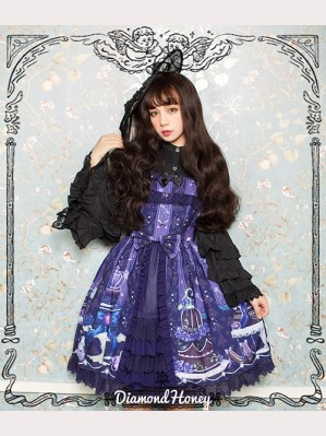 Diamond Honey Gothic Cake Lolita Dress JSK