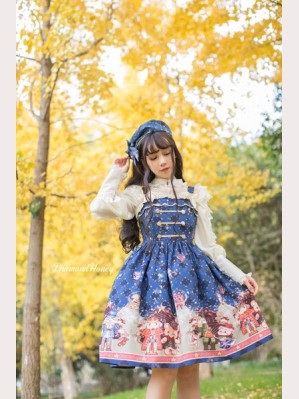 Diamond Honey Nutcracker Lolita Dress JSK