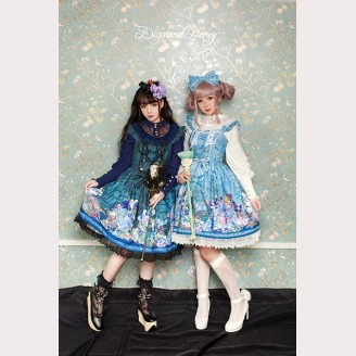 Diamond Honey Pirate Alice Lolita Dress JSK