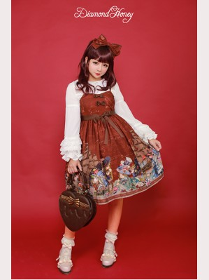 Diamond Honey Pirate Alice Lolita Dress JSK 2