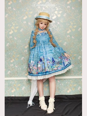 Diamond Honey Pirate Alice Lolita Dress OP