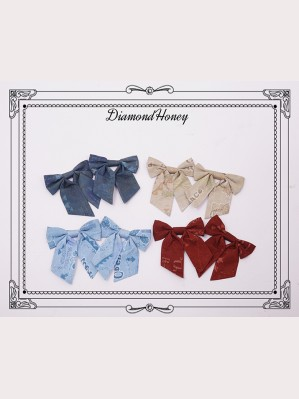 Diamond Honey Pirate Alice Lolita Hairclip x 1 pair