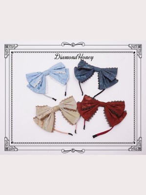Diamond Honey Pirate Alice Lolita Headbow KC