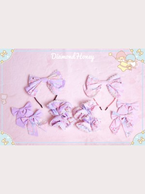 Diamond Honey Toy Rabbit Gift Box Lolita Hairclip/ Headbow/ Wristband