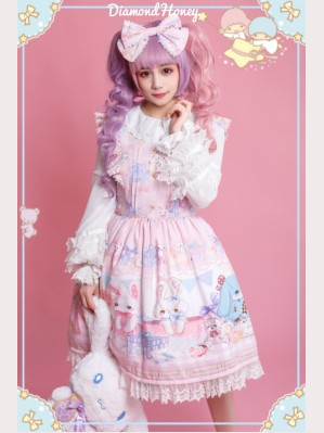 Diamond Honey Toy Rabbit Gift Box Lolita dress JSK