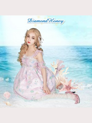 Diamond Honey Rabbit Mermaid Lolita Dress JSK