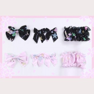 Diamond Honey Rabbit Mermaid Matching Headbow/ Hairclips/ Wristbands