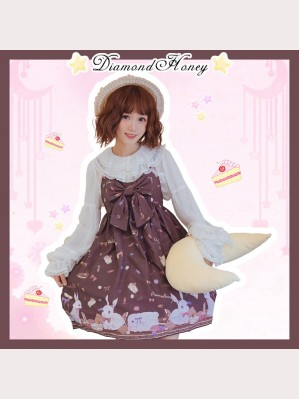 Diamond Honey Candy Rabbit Lolita Dress JSK