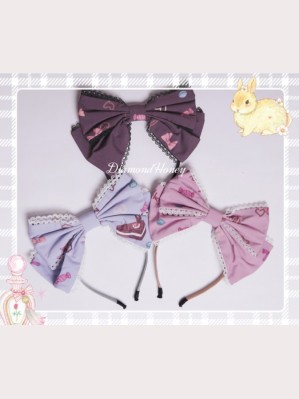 Diamond Honey Candy Rabbit Matching Lolita KC