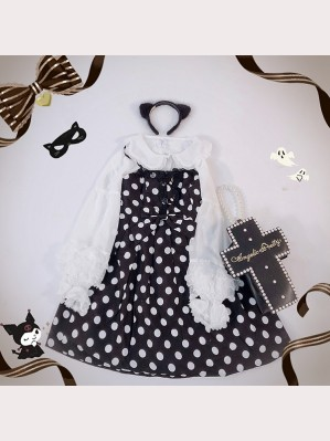 Diamond Honey Polka Dots Lolita Dress JSK (DH48)