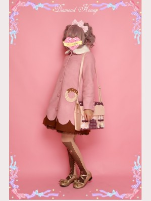 Clearance Sale! Diamond Honey Donuts Lolita Coat - Size L (028)