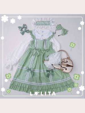 Diamond Honey Good Morning Girl Lolita Dress JSK
