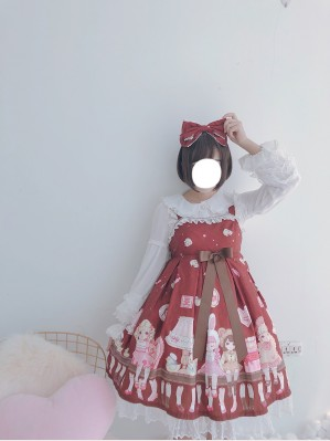 Diamond Honey Antique doll Lolita Dress JSK