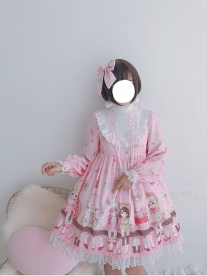 Diamond Honey Antique doll Lolita Dress OP (Fall 2018)
