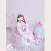 Diamond Honey Dress Snow Ball Lolita Dress JSK & Accessory Special Set