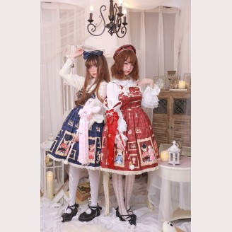 Diamond Honey Royal Bears Lolita Dress JSK (DH41)