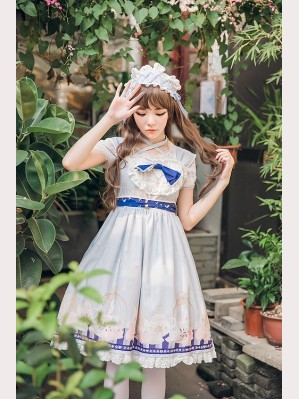 Anthony's afternoon tea Lolita Dress JSK & KC Set