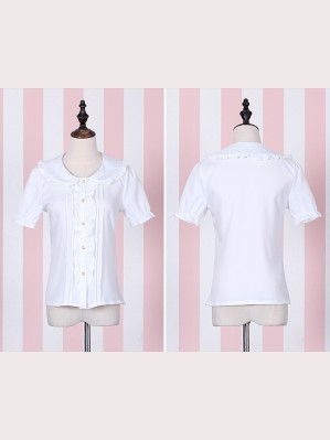 Lolita Dolly Short sleeve lolita blouse