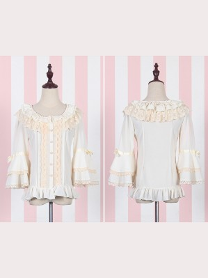 Lolita Princess Sleeves Chiffon Blouse
