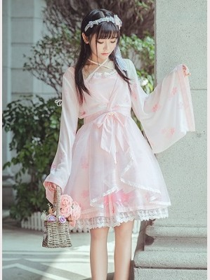 Qi Lolita Goldfish Dress OP & KC Set