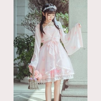 Qi Lolita Goldfish Dress OP