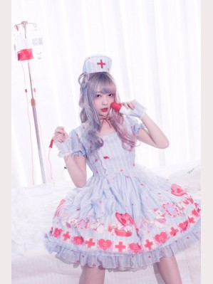 Lemon Honey Nurse Bunny Lolita Series