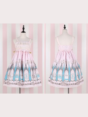 Travelers' praise song lolita dress JSK & KC Set