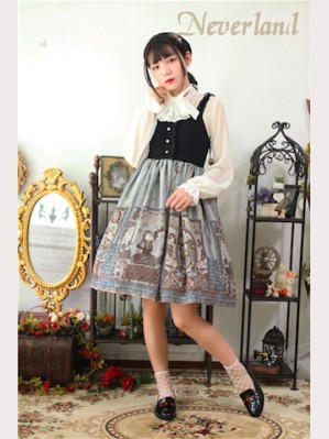 Souffle Song Steampunk Cat Lolita Dress JSK SP