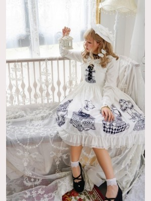 Souffle Song The Music Box Lolita Dress JSK