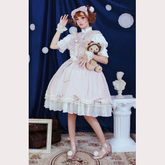 Souffle Song Fluffy Girl Lolita Dress JSK