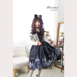 Souffle Song Beyond the Charles Bridge Lolita Dress JSK