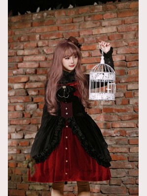 Souffle Song Dark Night Prayer Lolita Dress JSK Jumperskirt